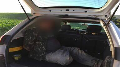 Polícia prende segundo suspeito de assalto em Ibarama e faz cerco em Arroio do Tigre - Três suspeitos seguem foragidos. Outro suspeito havia sido preso na madrugada desta quinta-feira (5).