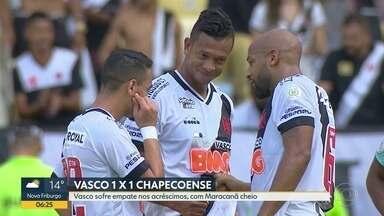 Confira todos os detalhes da última rodada do Brasileirão - Fla levou goleada do Santos; Botafogo empatou com Ceará; Vasco abriu placar, mas sofreu empate nos acréscimos; e o Flu venceu o Corinthians.