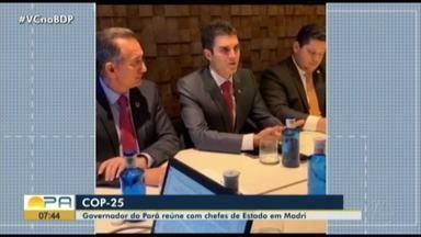 Governador do Pará se reúne com chefes de estado em Madri - Governador do Pará se reúne com chefes de estado em Madri