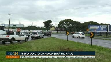 DER confirma fechamento do trevo do CTG Charrua após conclusão do viaduto da BR-277 - O bloqueio será feito ainda nesta semana.