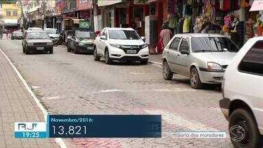 Estacionamento rotativo é bem recebido pelos moradores de Paty do Alferes - Valor cobrado é de R$ 1,50 por hora.
