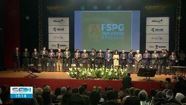 Fórum de Gás Natural é realizado em Sergipe - Fórum de Gás Natural é realizado em Sergipe.