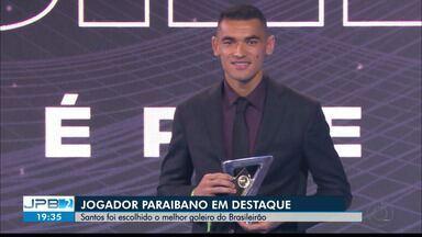 JPB2JP: Paraibano Santos foi escolhido o melhor goleiro do Brasileirão - Goleiro do Athletico-PR.