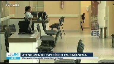 Hospital Regional dos Caetés, no PA, atende somente pacientes de áreas específicas - O JL2 mostrou ontem que moradores de Capanema reclamavam da falta de atendimento no hospital.