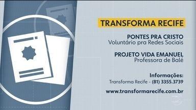 Juntos pelo bem: veja locais que necessitam de voluntários - Interessados podem entrar em contato com o Transforma Recife.