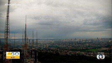 Veja a previsão do tempo para esta quarta-feira (11) em Goiás - Dia amanheceu com o céu nublado.