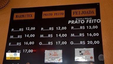 Alta no preço da carne leva restaurantes a reajustarem valores dos pratos - Alguns estabelecimentos também mudaram o cardápio.