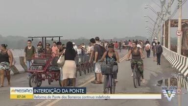 Secretário de Logística e Transportes do Governo de SP fala sobre a Ponte dos Barreiros - Ponte está interditada para o tráfego de veículos desde o dia 30.