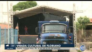 Virada cultural de Floriano começa hoje às 8h da manhã - Virada cultural de Floriano começa hoje às 8h da manhã