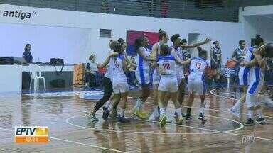 Campinas Basquete vence Santo André e vai disputar o título do estadual - Time vai enfrentar o Ituano na final do Campeonato Paulista de Basquete Feminino.
