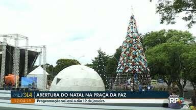 Espetáculo de natal nesta quarta-feira abre programação em Foz do Iguaçu - Abertura vai ser às 20h, na Praça da Paz.