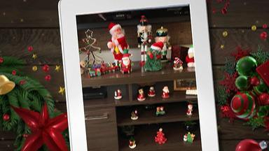 Telespectadores compartilham fotos e vídeos da decoração de Natal de suas casas - Outras fotos e vídeos podem ser enviadas para o WhatsApp da TV Diário. O número é (11) 3524-2333.