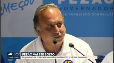 Pezão vai ser solto - Ex-governador pode deixar a cadeia a qualquer momento.