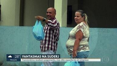 GloboNews descobre funcionários fantasmas na Suderj - Três funcionários recebem sem trabalhar. E batem ponto em Nova Iguaçu.