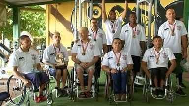 CAD termina ano com título do Paulista e Brasileiro do basquete sobre rodas - O time do basquete sobre rodas de Rio Preto está que não se cabe. A equipe está terminando com um saldo para lá de positivo. Além de conquistar o paulista também levou o brasileiro da categoria.