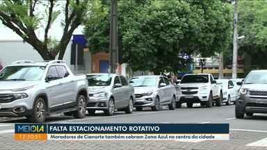 Moradores de Cianorte cobram estacionamento rotativo no centro - Em agosto de 2018 prefeitura conseguiu municipalização do trânsito.