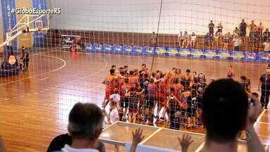 Sojão é o campeão gaúcho de basquete masculino; as campeãs femininas são do Caxias do Sul - Assista ao vídeo.
