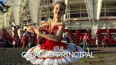 Conheça a história da Isadora que é apaixonada pelo ballet, pelo futebol e pelo Inter - Assista ao vídeo.