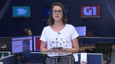 Confira os destaques do G1 Bauru e Marília desta quarta-feira (11) - Mariana Bonora apresenta os principais destaques do G1 de Bauru e Marília.
