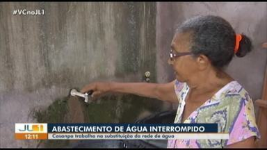 Cosanpa realiza a troca do sistema de distribuição de água de Marabá, no Pará - Cosanpa realiza a troca do sistema de distribuição de água de Marabá, no Pará