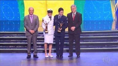 Boxeadora Bia Ferreira ganha Prêmio Brasil Olímpico - Pugilista criada em Juiz de Fora foi destaque do esporte brasileiro em 2019