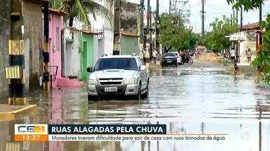 Manhã de chuva e de alagamentos em Fortaleza - Saiba mais no g1.com.br/ce
