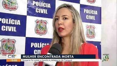Mulher é encontrada morta em Tianguá - Saiba mais no g1.com.br/ce