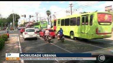 Prefeitura faz consulta pública sobre mobilidade urbana em Teresina - Prefeitura faz consulta pública sobre mobilidade urbana em Teresina