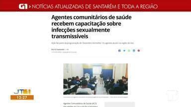 Capacitação para agentes de saúde é destaque no G1 Santarém e região - Acesse essa e outras notícias pelo celular, tablet ou computador.