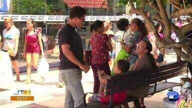 Em Santarém, pessoas que transitam pelo Belo Centro precisam prestar atenção nos bueiros - Área recebe maior fluxo de pessoas nessa época do ano.