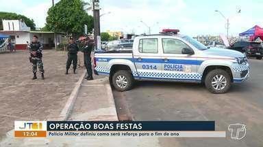 Polícia Militar define estratégias para atuação na operação 'Boas Festas' em Santarém - Primeira etapa das ações serão concentradas na área comercial.