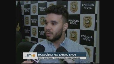 Polícia Civil soluciona novo caso de homicídio em Chapecó - Polícia Civil soluciona novo caso de homicídio em Chapecó