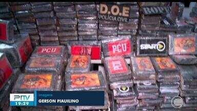 Polícia pede urgência para na incineração de mais de uma tonelada de cocaína apreendida - Polícia pede urgência para na incineração de mais de uma tonelada de cocaína apreendida