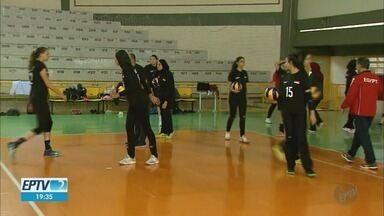 Franca, SP, recebe equipe feminina de vôlei em preparação para o Pré-Olímpico - Seleção de vôlei do Egito fica esta semana na região.