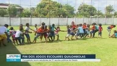 Jogos Quilombolas reuniu estudantes de 21 escolas públicas do Amapá - Jogos Quilombolas reuniu estudantes de 21 escolas públicas do Amapá