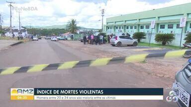 Rondônia está entre os maiores índices de mortes violentas - Homicídios e acidentes de trânsito estão entre as causas.