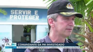 Comandante de batalhão da PM em Campos é alvo de ação civil pública do MP - MP fez denúncia de improbidade administrativa por conta de um funcionário fantasma na época em que acusado era diretor do Departamento de Segurança em Volta Redonda.