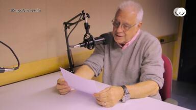 Fagundes comenta apresentação do podcast 'Clube do Livro' - Confira