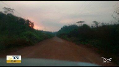 Motoristas reclamam de problemas na MA-006 - Trecho grande da rodovia que liga a cidade de Arame à BR-222 no Vale do Pindaré está em péssimas condições.