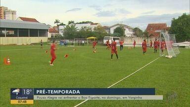 Pouso Alegre vai enfrentar o Boa Esporte no domingo em Varginha - Pouso Alegre vai enfrentar o Boa Esporte no domingo em Varginha