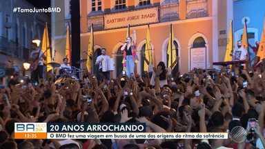 BMD presta homenagem aos 20 anos de um dos ritmos mais populares do Brasil; confira - Confira reportagem sobre o arrocha.