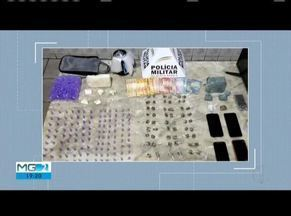Dois jovens são detidos com droga em Almenara - Polícia chegou até eles após denúncias.