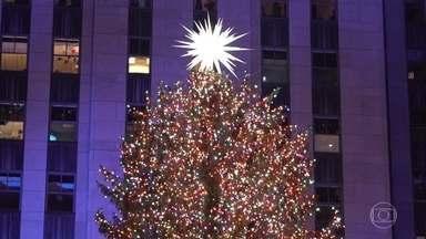 Nova York se ilumina como nos cenários de filmes na época do Natal - Quem não se lembra de Macaulay Culkin perdido por Nova York em 'Esqueceram de Mim 2'? Ou não sonhou em patinar no gelo ao lado da árvore do Rockfeller Center? Nova York é uma das cidades mais famosas do mundo graças ao cinema.
