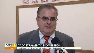 Presidente do TRE faz reunião em Montes Claros - Prazo para o cadastramento biométrico já encerrou em algumas cidades.