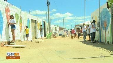 Projeto promove revitalização de casas em comunidade do João de Deus em Petrolina - Cerca de 60 famílias foram beneficiadas
