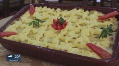 Culinária 013: Bacalhau à Zé do Pipo é opção para as festas de fim de ano - Confira o passo a passo da receita.
