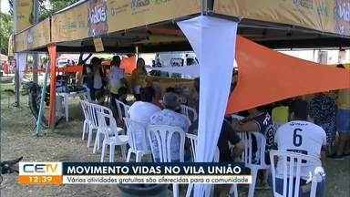 Serviços são oferecidos de graça no bairro Vila União - Confira mais notícias em g1.globo.com/ce