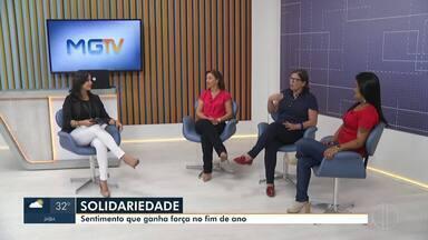 Debate Inter TV aborda solidariedade - No Natal, a rede de solidariedade cresce e traz esperança para muitas pessoas.