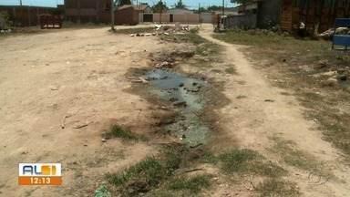 AL1 nas comunidades mostra problemas na Rua Miguel Pereira de Omena, no Jardim Saúde - Moradores cobram pavimentação, drenagem e saneamento.