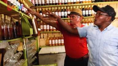 'Agora eu sou daqui' mostra história do comerciante Ambrózio - Ele mora há mais de 60 anos na cidade de Imperatriz, mas é natural do estado do Rio Grande do Norte.